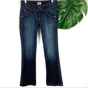 Hudson Stretch Bootcut Dark Denim Jeans Women's 26